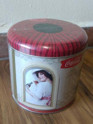 🚚 Coca Cola Metal Tissue Can