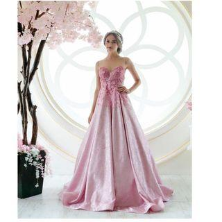 bridal evening gown