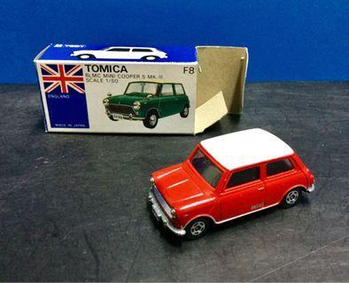 Tomica No.F8 Mini Cooper