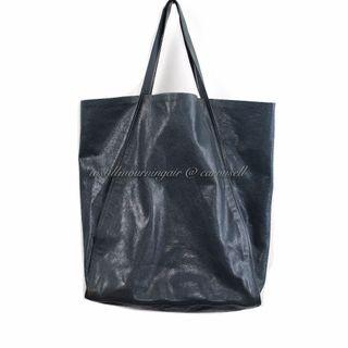 Dior Homme Calf Leather Shopper Tote Bag