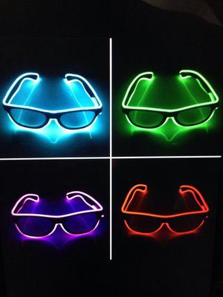LED Light Wired Glasses / Spectacles ❗️ Year End Sale❗️ Grab Yours Now❗️ New Year Party / Christmas / Party / DND ❗️ In - Stock❗️