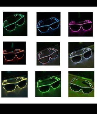 Led Flashing Light Wired Glasses/Spectacles — Year End Sale!! IN-STOCK NEW YEAR / CHRISTMAS