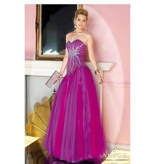 Evening gown , US designer gown