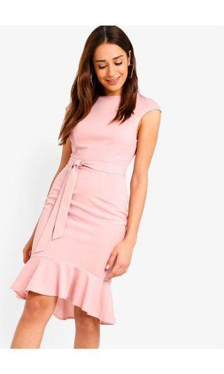 🚚 Mermaid hem sheath knit dress