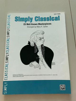 Simply Classical Easy Piano