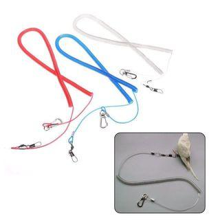 🚚 Anti Bite Bird hooked leash for training or going out