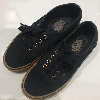 Vans Authentic Black Gum