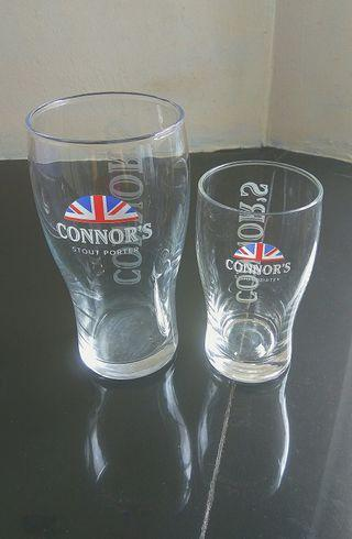 Connor's Beer / Stout Glasses