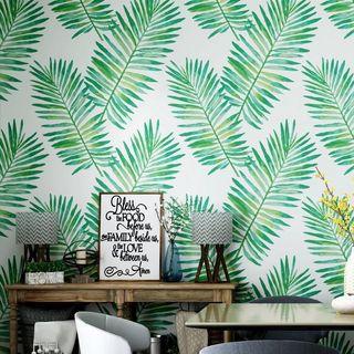 🎊 Promo Banana Leaf Design Wallpaper
