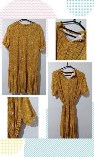 Dress plisket bangkok