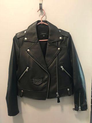 Mackage studded leather jacket