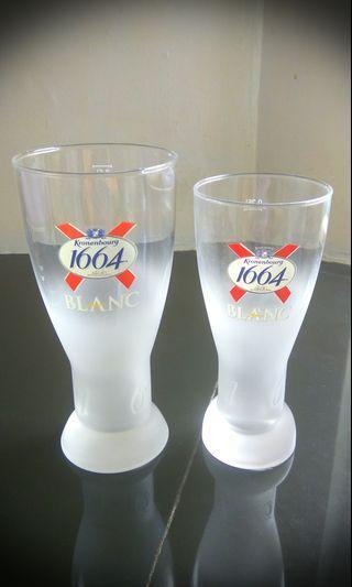 Kronenbourg 1664 Blanc Beer Glass