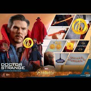 ++全新 Hottoys MMS484 Marvel Avengers Infinity War Doctor Strange 奇異博士