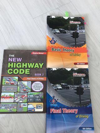 Highway Code + BTT & FTT Books