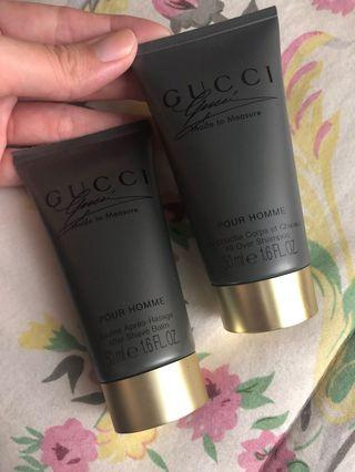 Gucci After Shave & Shampoo