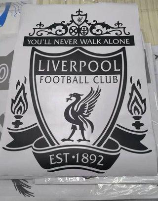 [Big] Liverpool FC Wall Vinyl Decal (Die Cut)