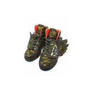 Adidas Jeremy Scott Wings Camo Shoes