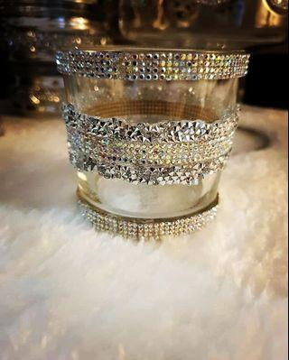 Candle Holder Glass container multipurpose