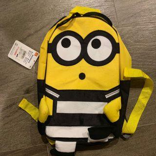 🚚 Brand New Minion Backpack with tag