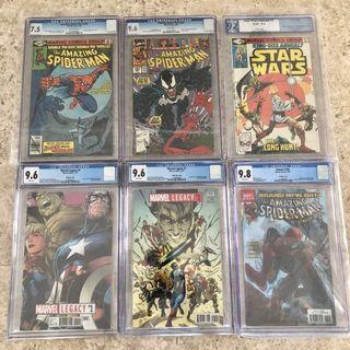 🚚 ONLY $99 each. Spider-man, Marvel Legacy, Star Wars, Venom #EndgameYourExcess