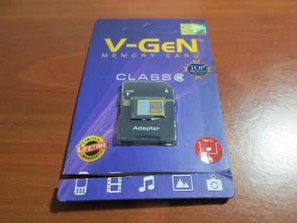 [2ND] V-Gen Micro SD 16GB + Adapter