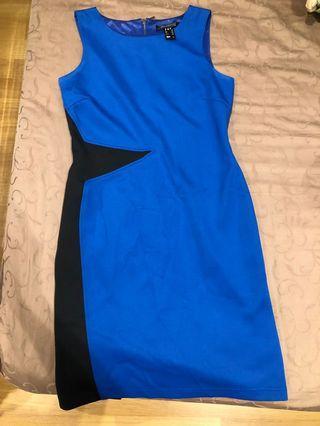 🚚 Blue Stylish Dress
