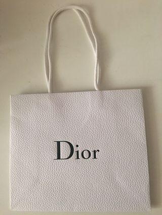 迪奧Dior紙袋