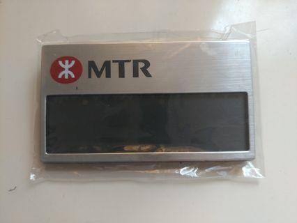 Mtr 地鐵 港鐵 職員名牌