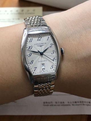 真品 90%new LONGINES 浪琴 女裝 精鋼 全自動 機械芯 手錶 women watch Swiss made 有單