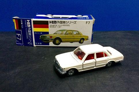 Tomica No.F7 Mercedes Benz 450 SEL
