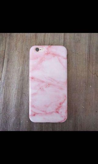 iPhone Case - pink marble
