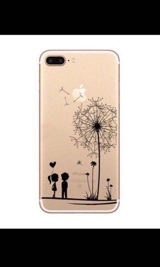 iPhone Case - couple dandelions