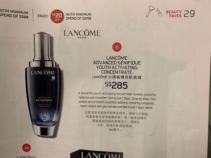 Lancôme advanced youth concentrate