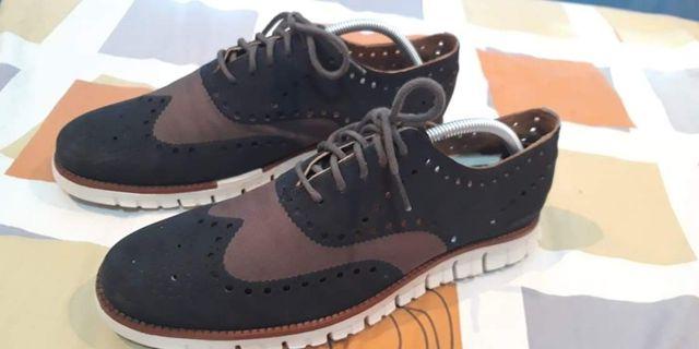 66a99e50b9c Cole Haan Grand Zero Oxford black brown condition 9.5 10 size10