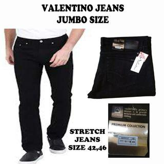 Big size Black jeans Vaxxxtino original
