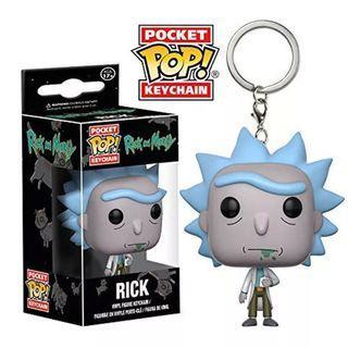 Funko Pop Rick 鎖匙扣
