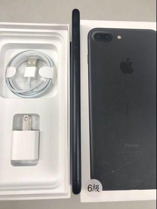 iphone7 plus 32G 消光黑