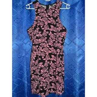 H&M Floral Pink Dress