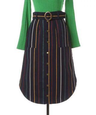 日系❤️Redyazel間條半身裙 Japan stripe skirt stripes skirt