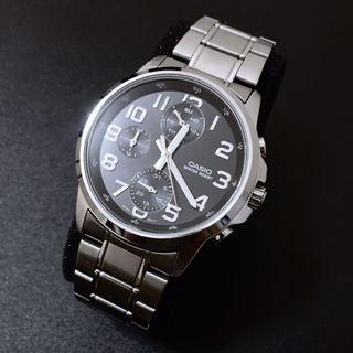 Casio MTP-E307D Quartz Analog Multi-hands Watch