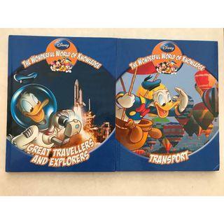 Disney Children Books (set of 2)