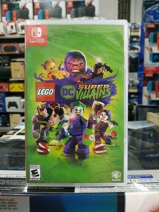 🆕 Nintendo Switch Lego DC Super Villains