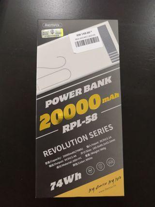 Remax Power Bank 20000 mAh RPL-58