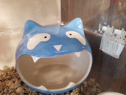 熊仔鼠 陶瓷屋 貓貓款 適合熊仔鼠一隻住