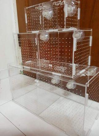 SALES !!! BRAND NEW Breeding box for your fish fry!!! Easy to fix!!! Tank GOT bracing or no bracing also NO ISSUE!!!