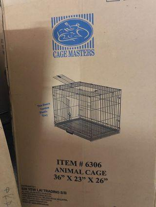 🚚 Dog cage brand new in box