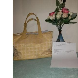 Pre owned authentic CHANEL tote bag