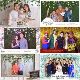 🚚 Instant photobooth service on PROMO! Wedding, events, birthday parties or DNDs