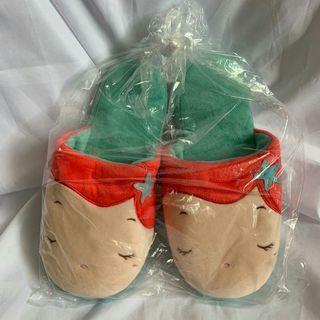 日本帶回🌟迪士尼公主美人魚室內拖鞋🐳 size38/39