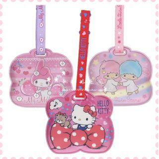 🚚 [PO] Hello Kitty and friends Luggage Tag